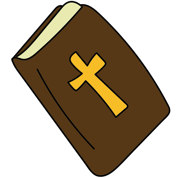 Cross with bible clipart picture freeuse library Bible Drawing at GetDrawings.com | Free for personal use Bible ... picture freeuse library