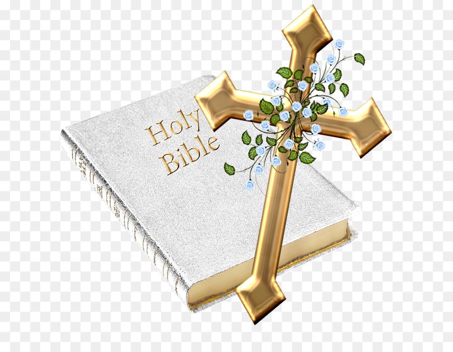 Bible and rose clipart free transparent stock Gold Rose clipart - Bible, Cross, transparent clip art transparent stock