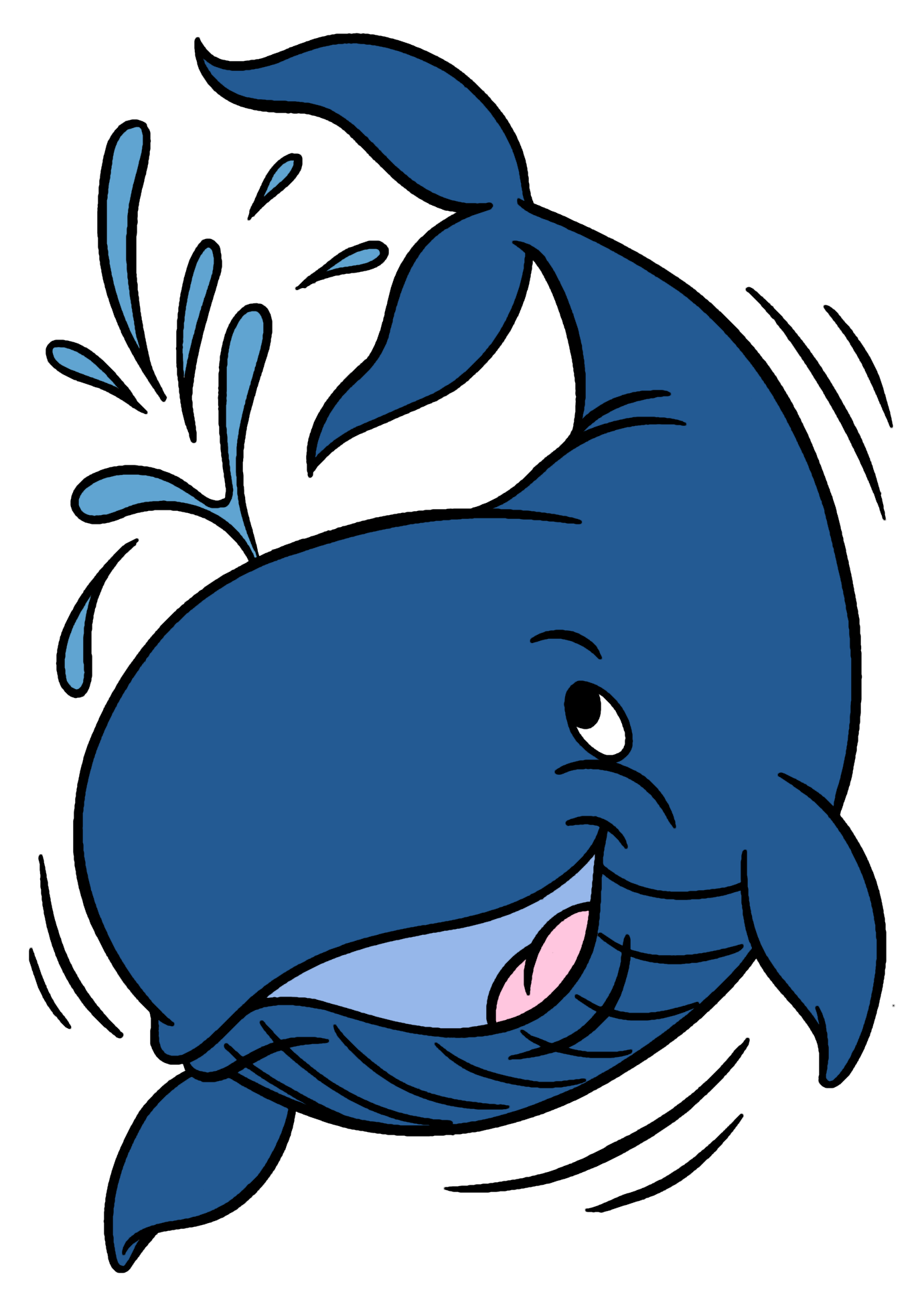 Clipart otter eating fish banner royalty free Whale clipart | Crafts | Pinterest | Vbs 2016, Clip art and Rock ... banner royalty free
