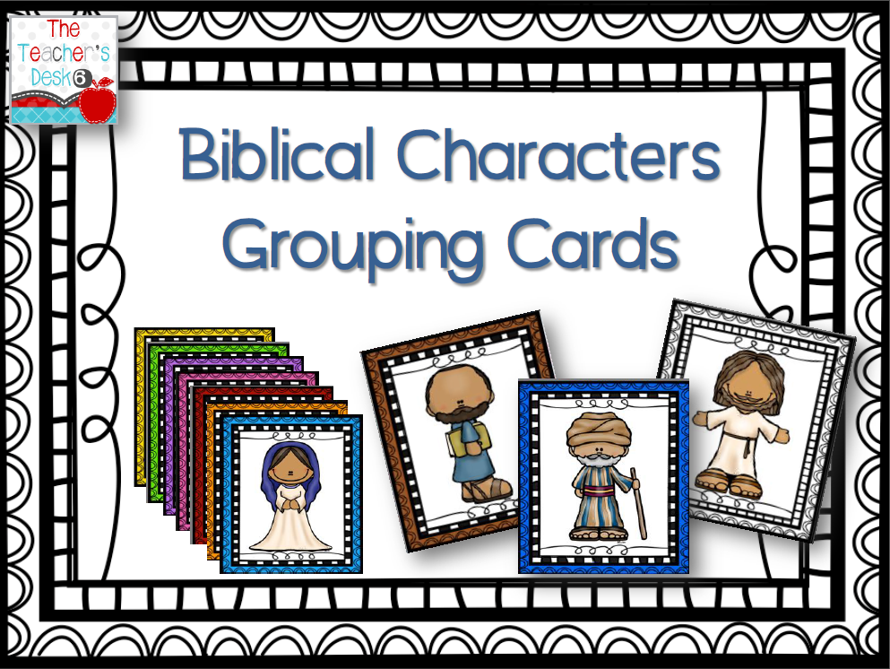 Bible character cards clipart graphic black and white stock Bible character cards clipart - ClipartFest graphic black and white stock