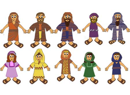 Bible character clipart for kids picture transparent stock Bible character clipart for kids - ClipartFest picture transparent stock