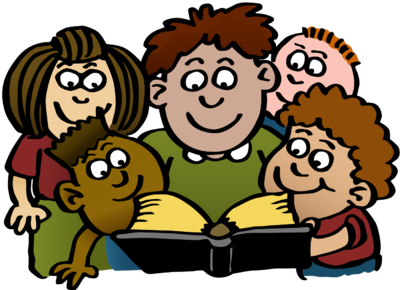 Bible clip art for children clip art free Children Reading The Bible Clip Art image tips clip art free