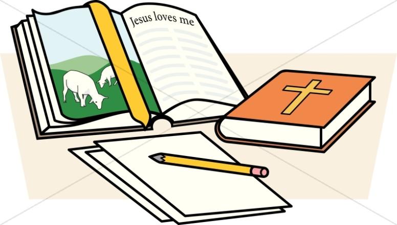 Bible clip art for children jpg library stock Children's Church Clipart, Sunday School Clip Art - Sharefaith jpg library stock