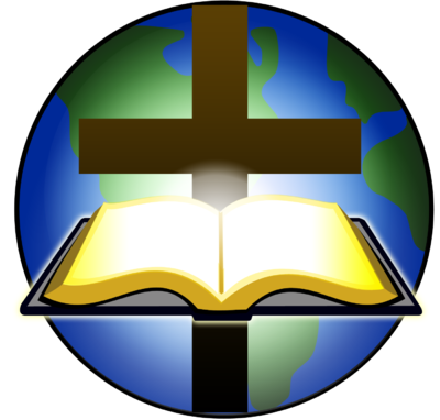 Cross and kid image. Bible clipart