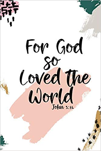 Bible clipart for god so loved the world