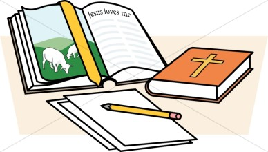 Image of study clip. Bible clipart for kids