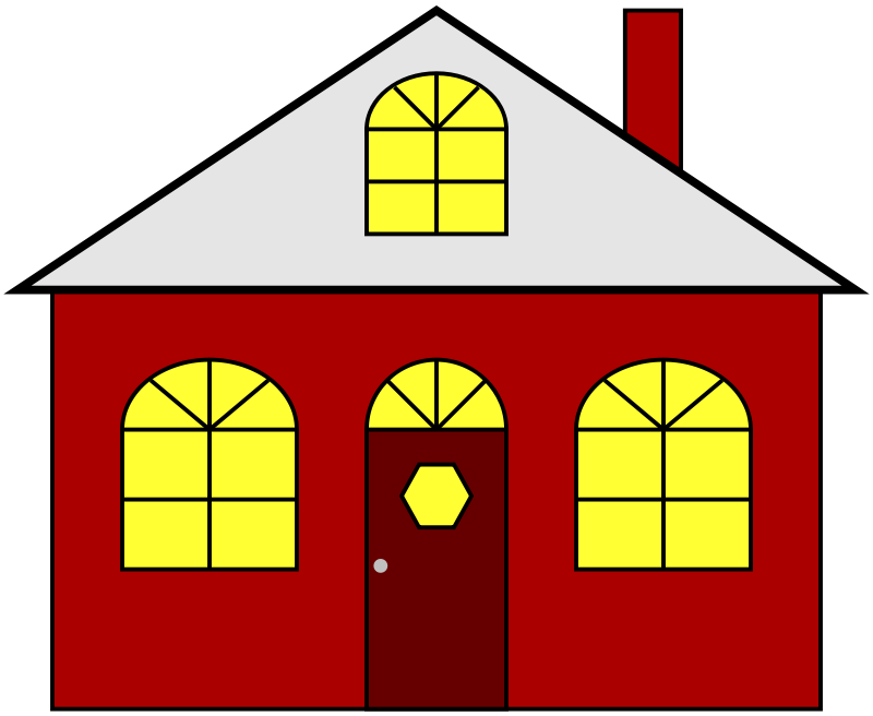 Dilapidated house clipart svg royalty free House Clip Art Free Cartoon Free Clipart Images - Hanslodge Cliparts svg royalty free