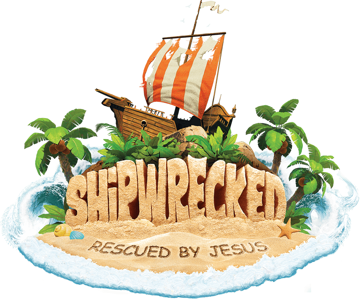 Bible school clipart banner freeuse library Shipwrecked Easy VBS 2018 | Vacation Bible School - Group banner freeuse library