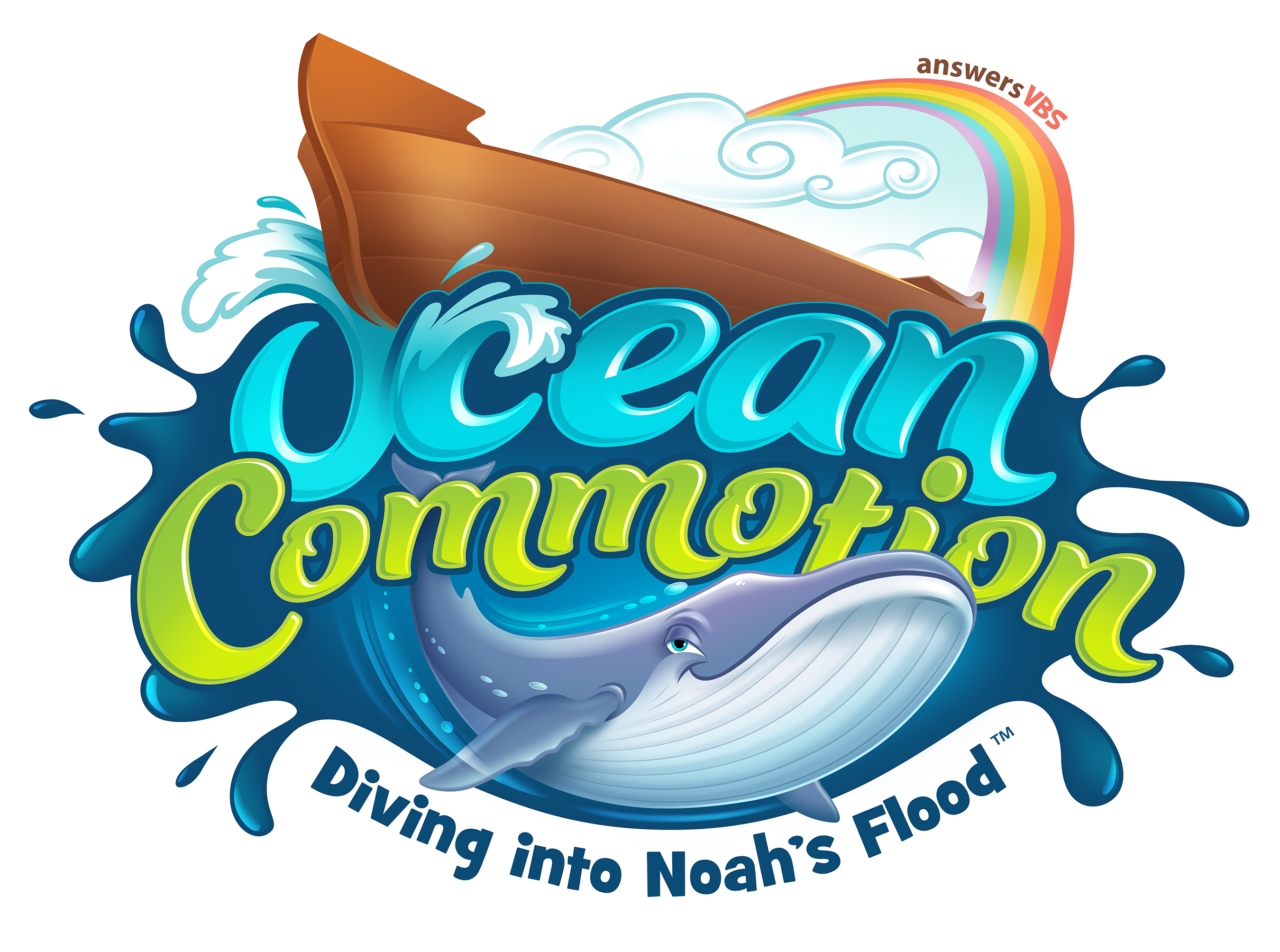 Bible school clipart svg download Ocean Commotion Resources | Answers VBS 2016 svg download