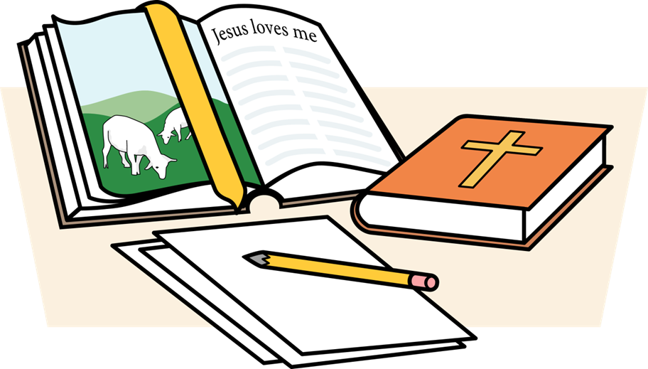 Sunday school clipart children svg black and white stock Childrens Bible Clipart at GetDrawings.com | Free for personal use ... svg black and white stock