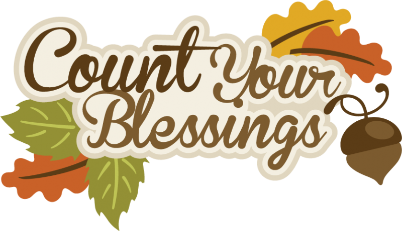 Happy thanksgiving banner type clipart clip black and white library THANKSGIVING, AUTUMN OR FALL, COUNT YOUR BLESSINGS CLIP ART | CLIP ... clip black and white library
