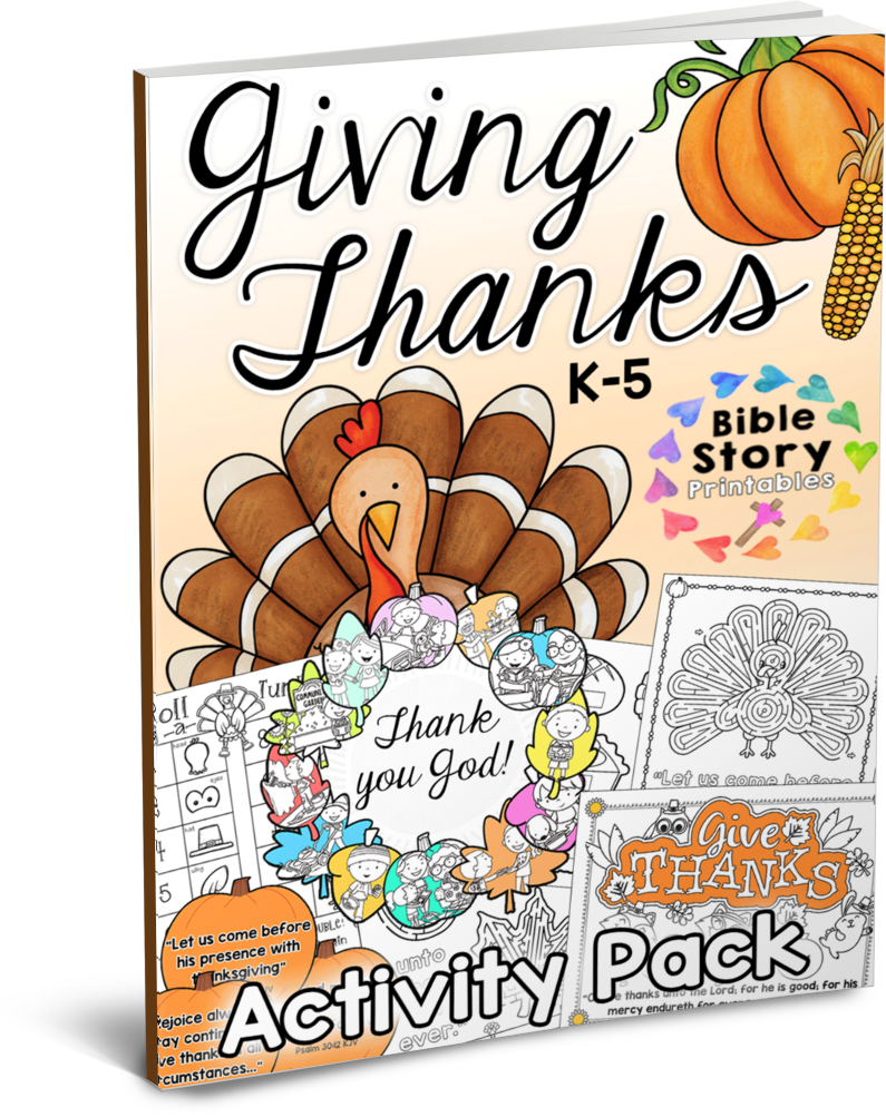 Bible verse thanksgiving day clipart picture freeuse Thanksgiving Bible Printables & Crafts - Christian Preschool Printables picture freeuse