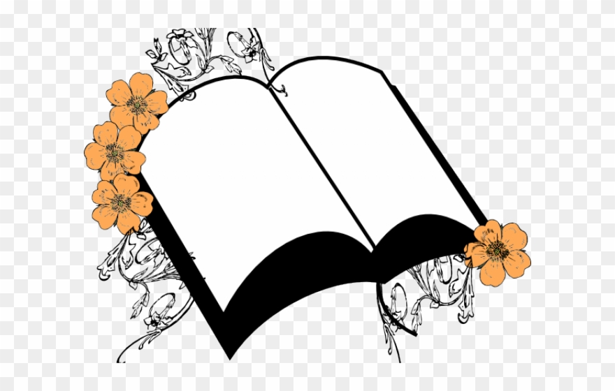 Bible with flowers clipart banner stock Flowers Clipart Bible - Bible Borders Clip Art - Png Download ... banner stock