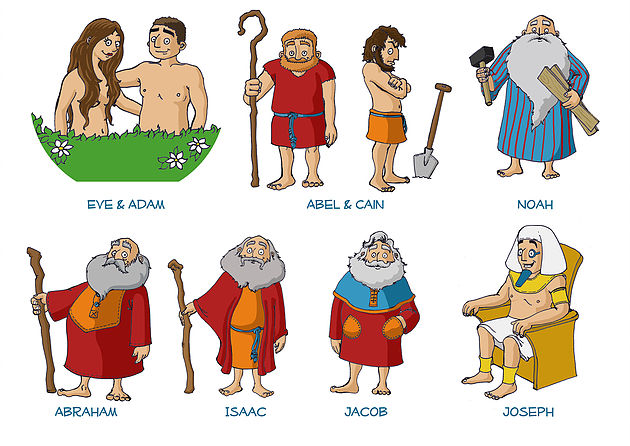 Biblical character traits clipart svg stock Bible Characters (Pros & Cons, Read!) svg stock