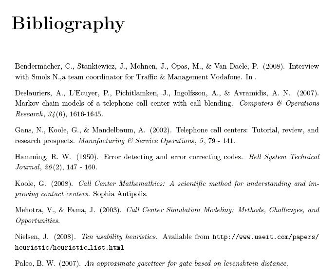 Bibliography apa. Outline format free sample