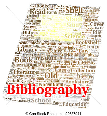 Bibliography clipart black and white Drawing of Bibliography word cloud shape concept csp22637941 ... black and white