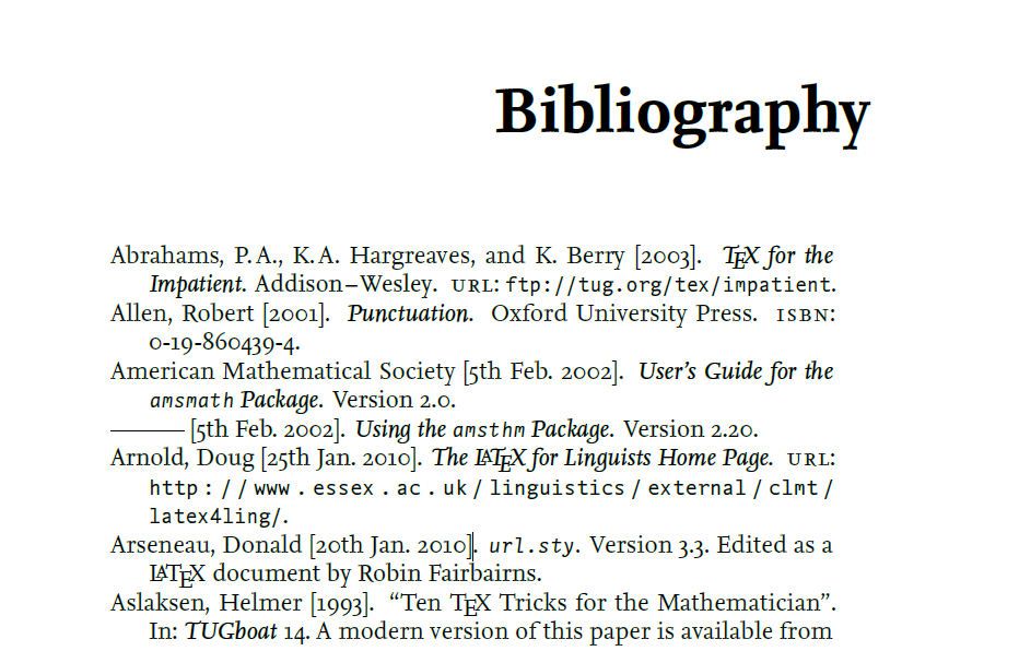 Bibliography examples. Clipartfest do a example