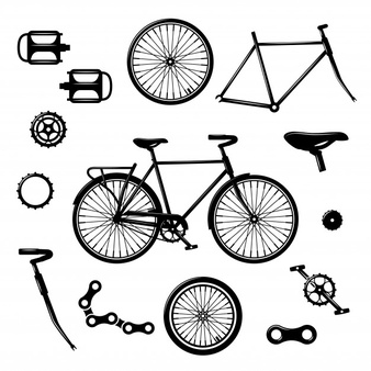 Bicicleta vector clipart jpg royalty free download Bicycle Vectors, Photos and PSD files | Free Download jpg royalty free download