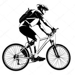 Bicicleta vector clipart clipart royalty free stock Download bicicleta de montaña vector clipart Mountain bike Clip art clipart royalty free stock