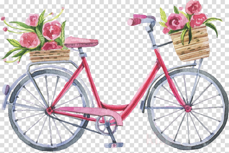 Bicycle baskets clipart svg black and white download Paper Background Frame clipart - Bicycle, Cycling, Paper ... svg black and white download