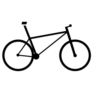 Bicycle icon clipart