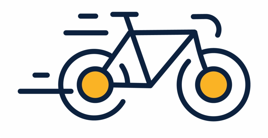 Bicycle icon clipart png freeuse Ride Bike Icon - Bike Ride Icon Free PNG Images & Clipart Download ... png freeuse