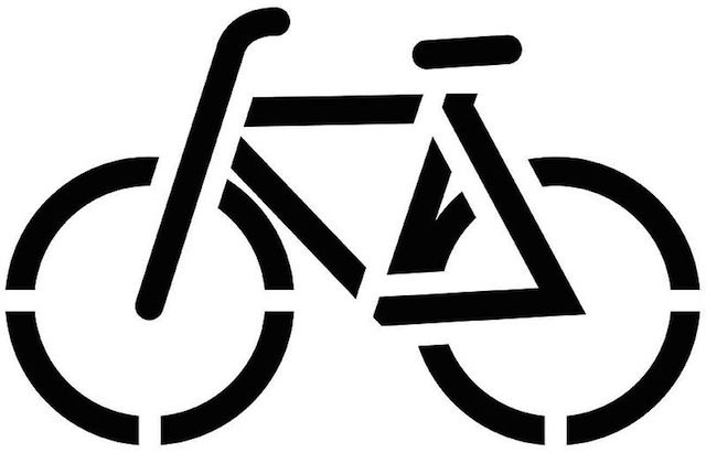 Bicycle in pilates clipart on you side