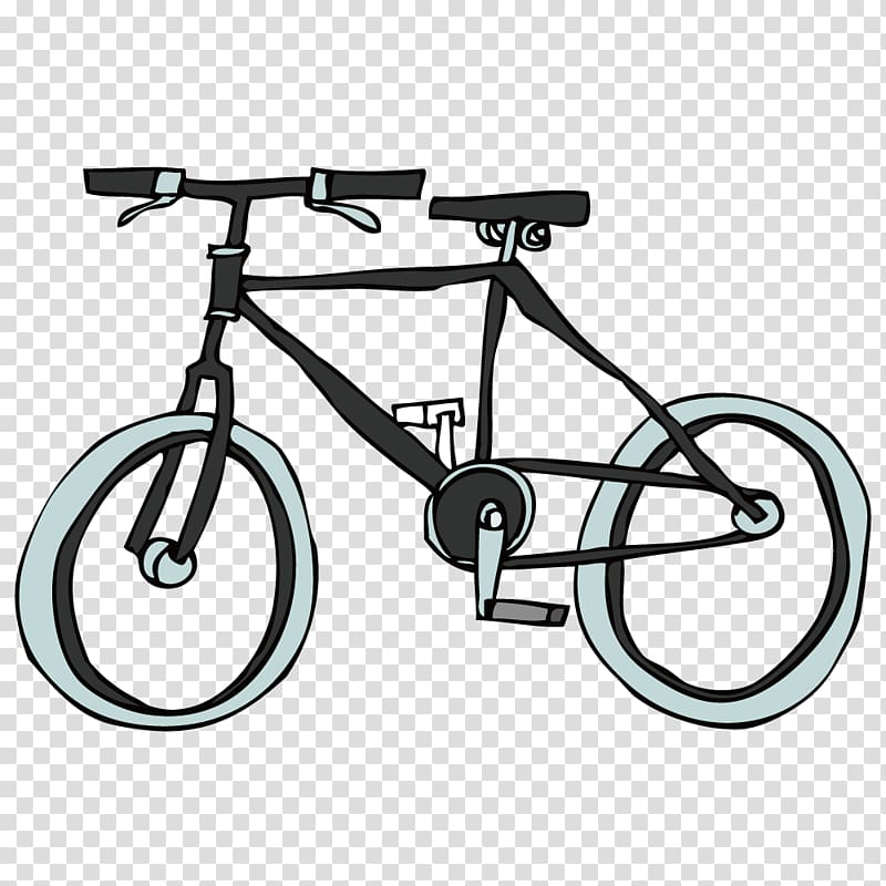 Bicycle saddle clipart banner freeuse download Bicycle pedal Bicycle wheel Bicycle saddle, Black Cartoon Bike ... banner freeuse download