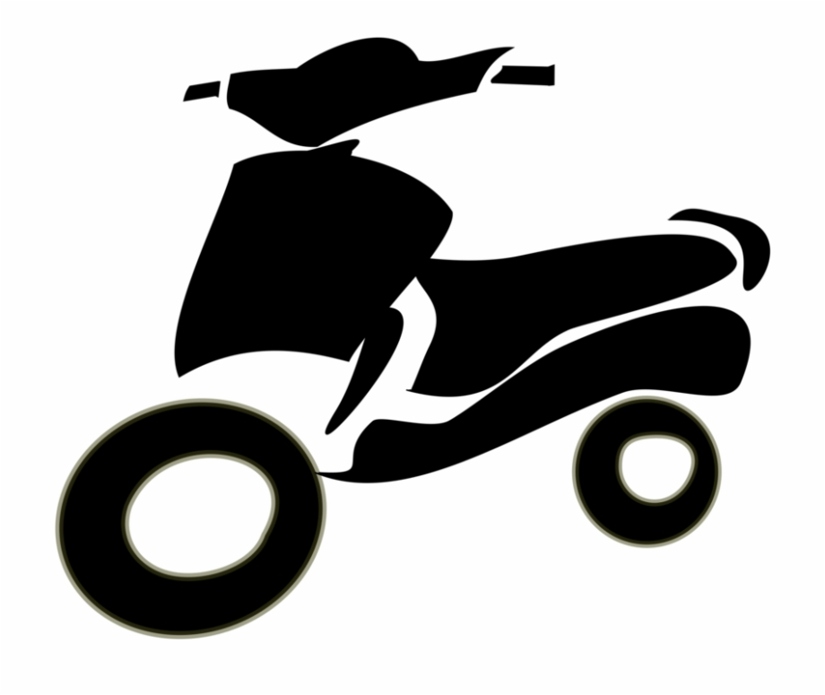 Bicycle scooter clipart banner free stock Two-wheeler Scooter Motorcycle Bicycle Download - Two Wheeler ... banner free stock