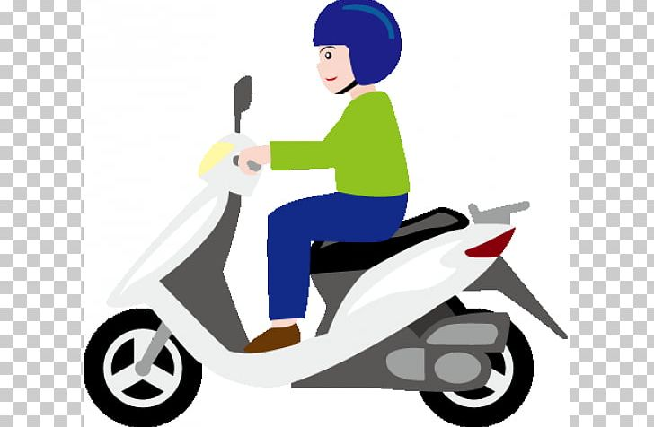 Bicycle scooter clipart clipart black and white stock Scooter : Transportation Motorcycle Bicycle PNG, Clipart, Artwork ... clipart black and white stock