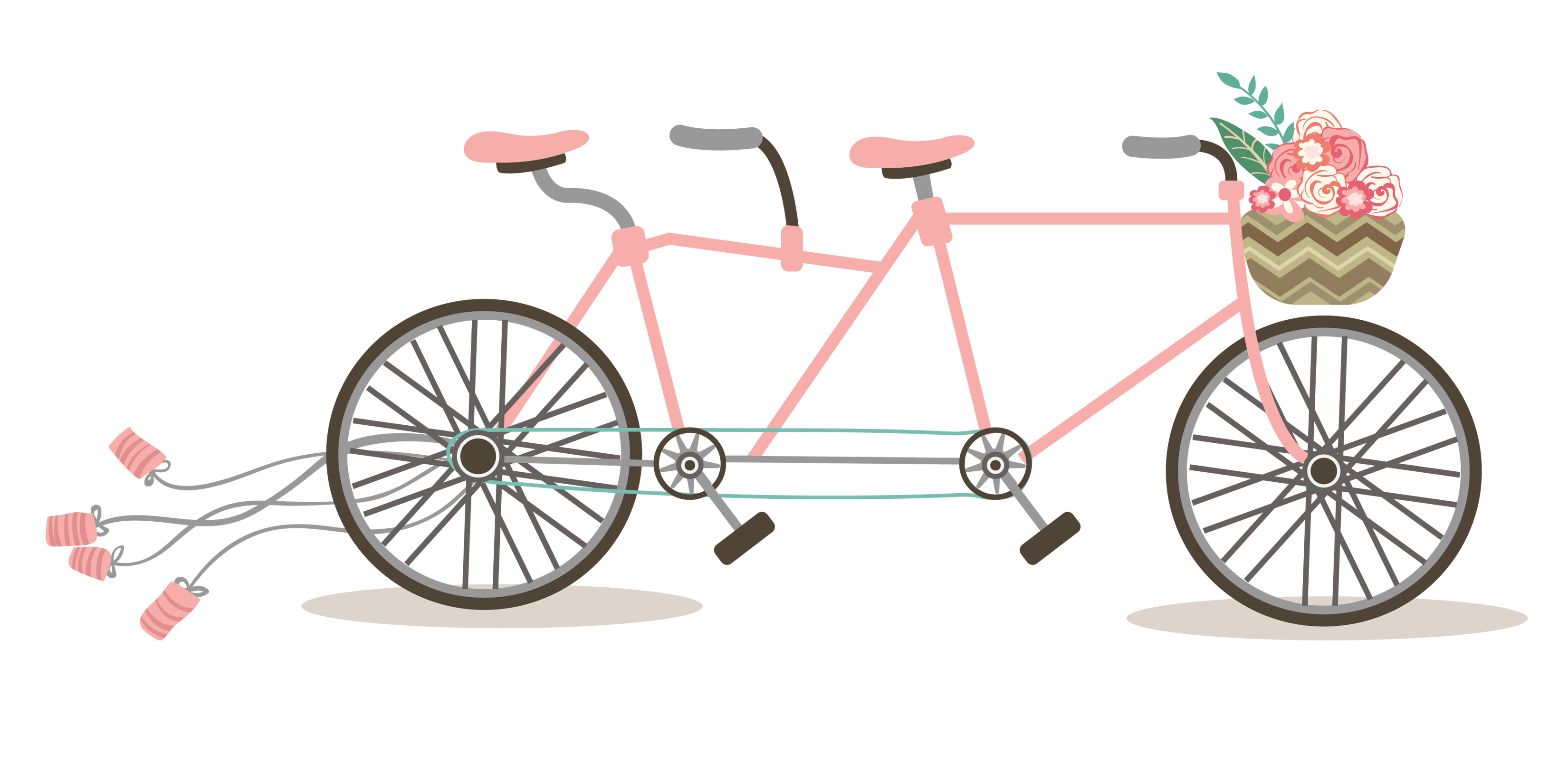 Bicycle with flower basket clipart image royalty free download Bicycle clipart baby FREE for download on rpelm image royalty free download