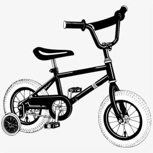 Bicycle with training wheels clipart clipart library Free Bike With Training Wheels Clipart Cliparts, Silhouettes ... clipart library