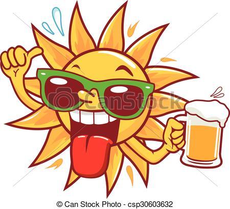 Bier trinken clipart png royalty free stock Vektoren von sonne, Trinken, bier, karikatur - a, karikatur ... png royalty free stock