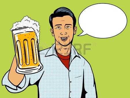 Bier trinken clipart jpg black and white download Bier Trinken Lizenzfreie Vektorgrafiken Kaufen: 123RF jpg black and white download