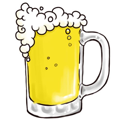Bier trinken clipart black and white wikiHow to Draw a Beer Mug -- via wikiHow.com | Cookie Inspiration ... black and white