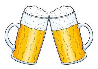 Bier und wein clipart vector royalty free stock Biergläser anstoßen clipart - ClipartFest vector royalty free stock
