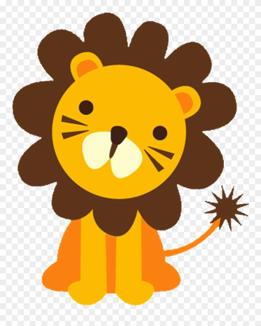 Big and small animals clipart image freeuse Baby Lion Clipart Baface 71 With Clipart Ba Shower - Big And Small ... image freeuse