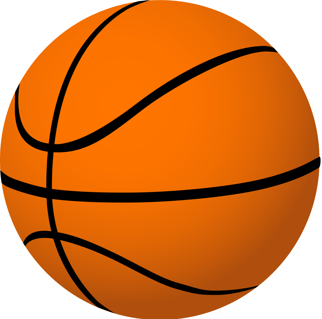 Basketball backboard breaking clipart. Big basket ball the