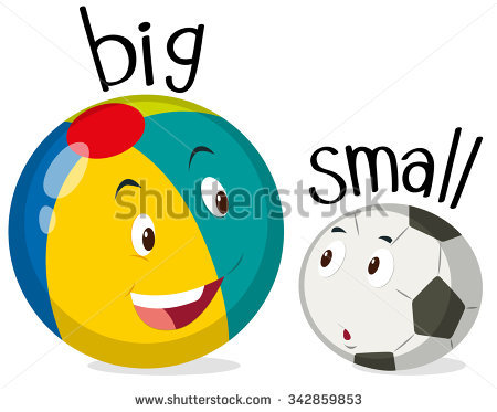 Big and small ball clipart jpg black and white download Big And Small Stock Images, Royalty-Free Images & Vectors ... jpg black and white download