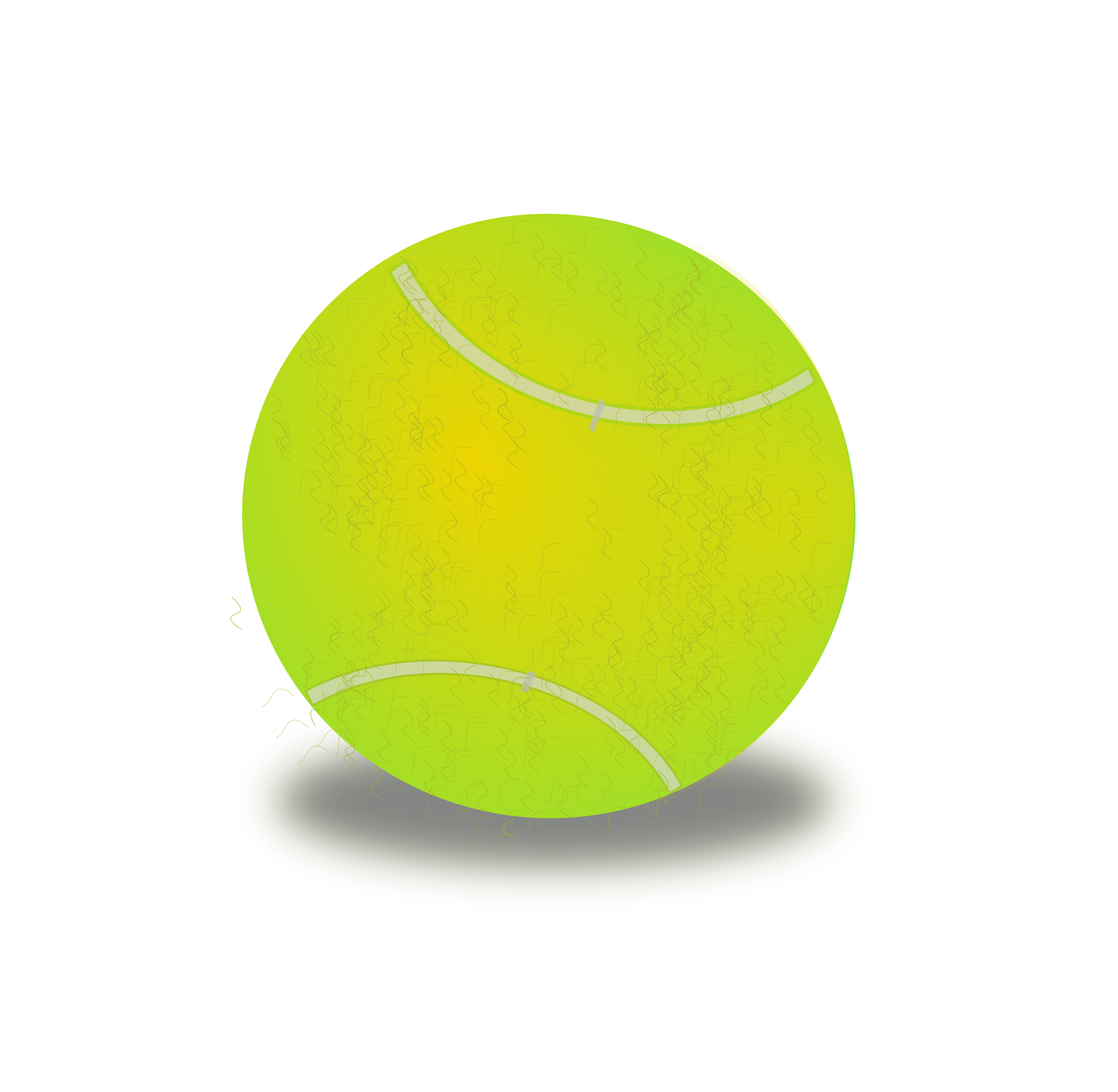 Big and small ball clipart graphic transparent library Clipart - Tennis ball graphic transparent library