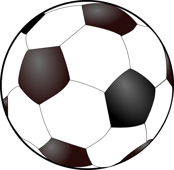 Football cartoons clipart banner stock Soccer Ball Clip Art at Clker.com - vector clip art online ... banner stock
