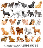 Big and small dog clipart image free stock Dog Clipart - (1171 Free Downloads) image free stock