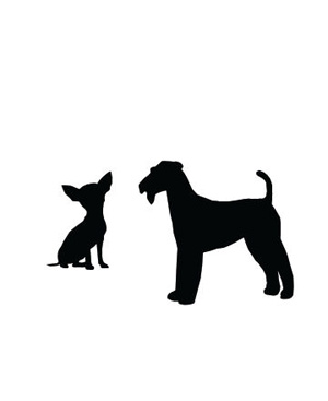 Big and small dog clipart png royalty free stock Large Small Dog Clipart - Clipart Kid png royalty free stock