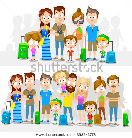 Big and small family clipart png black and white stock Big Family Stock Images, Royalty-Free Images & Vectors | Shutterstock png black and white stock
