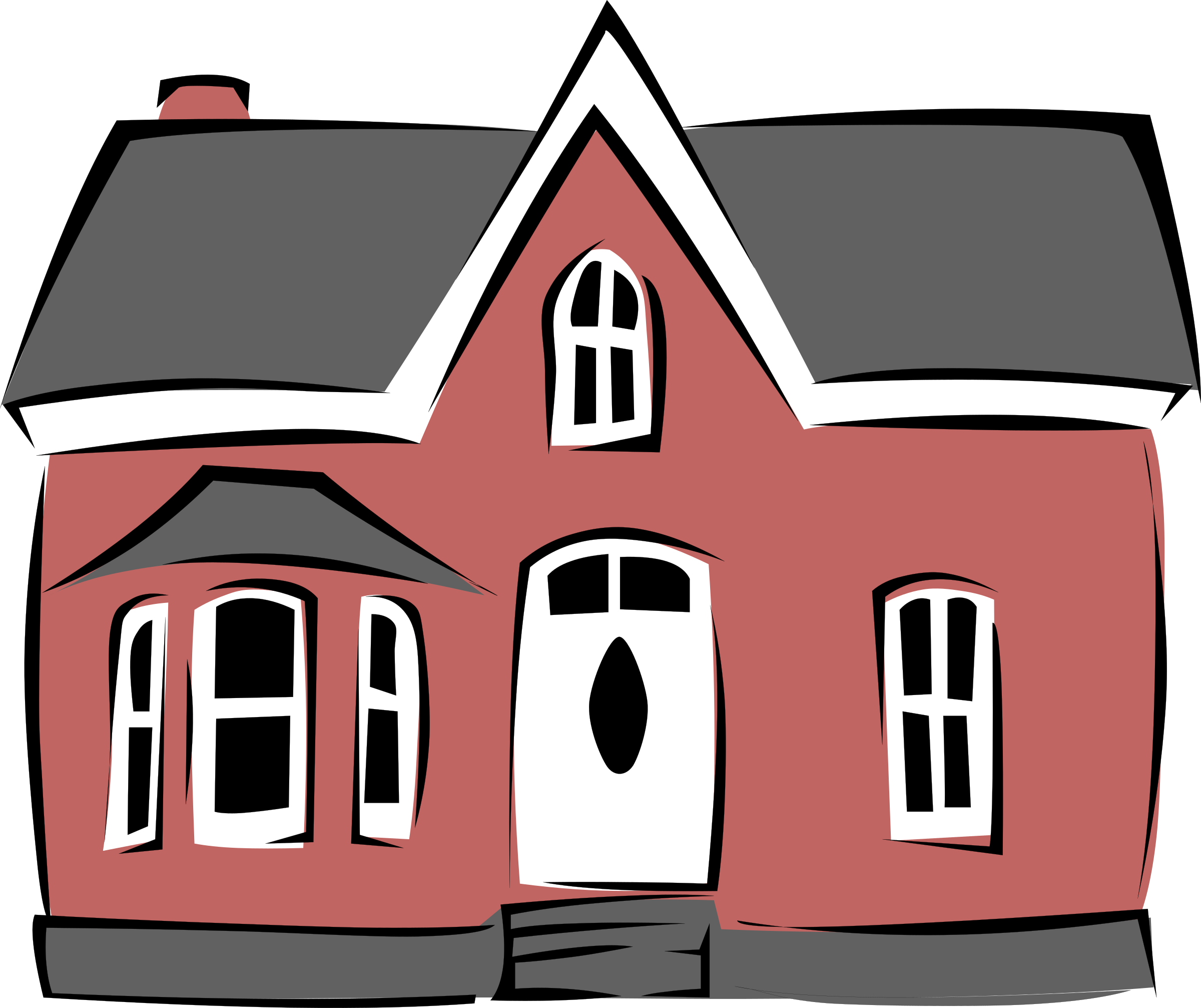 Clipart house building svg transparent library Clipart - Small House svg transparent library