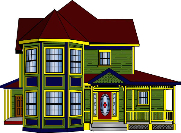 Big and small house clipart image free Small house vs big house clipart - ClipartFest image free
