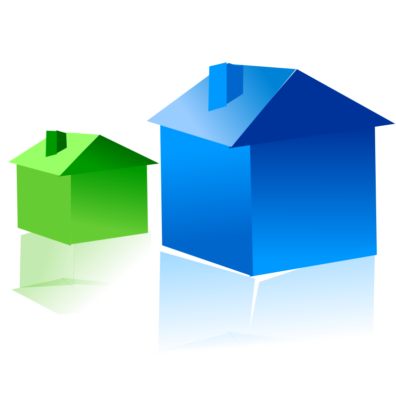 Big and small house clipart image transparent download Big and Small Clip Art – Clipart Free Download image transparent download