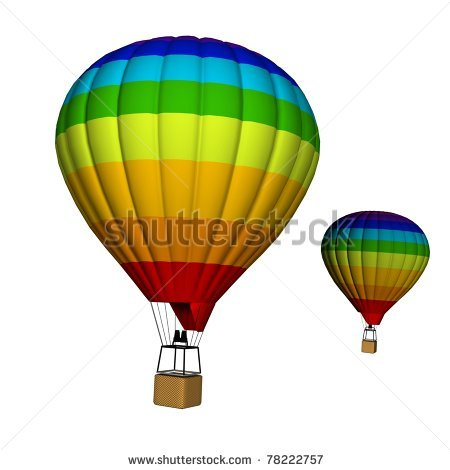 Big and small objects clipart jpg free library Hot Air Balloon Empty Basket | Clipart Panda - Free Clipart Images jpg free library