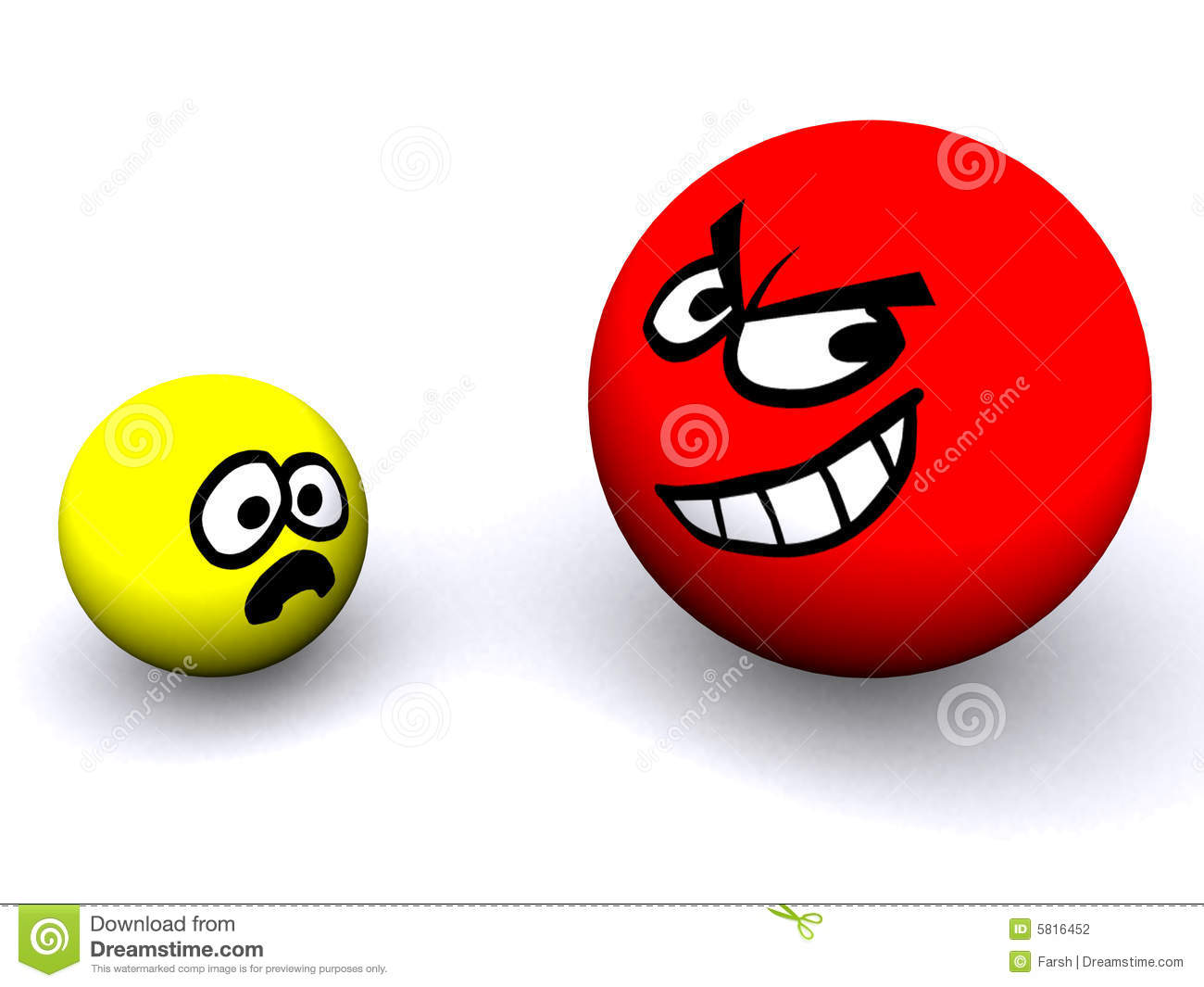 Big and small objects clipart clip Big & Small Stock Photography - Image: 5816452 clip