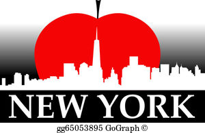 Big apple pictures clipart clip free Big Apple Clip Art - Royalty Free - GoGraph clip free